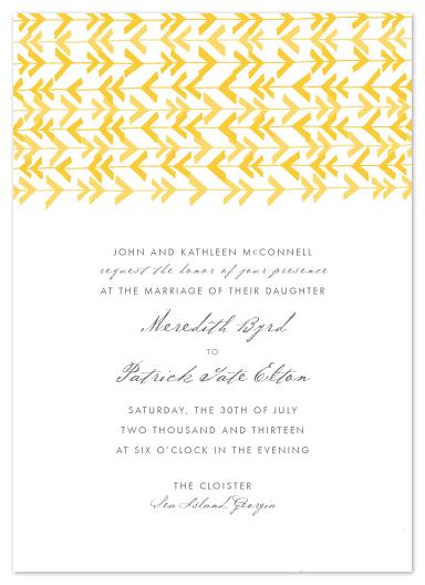 wedding invitations - Eldorado by beth perry DESIGN