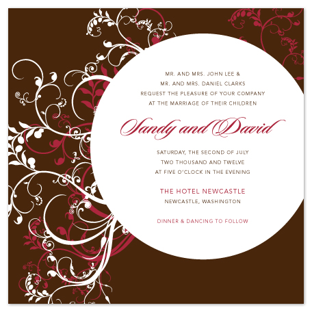 wedding invitations - under the moonlight by SaCha Designs