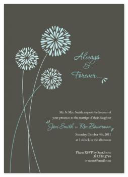 Always & Forever Wedding Invitations