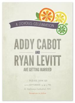 Main squeeze Wedding Invitations