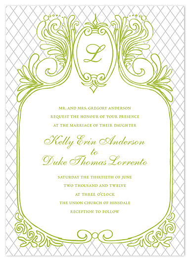 wedding invitations - Parisian Balcony in Spring by - Keg Design -
