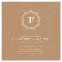 Brown Bag Wedding Invitations