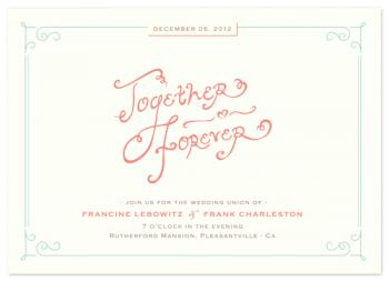 italian love Wedding Invitations