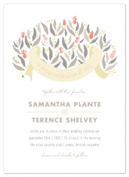 Gold Rush Wedding Invitations
