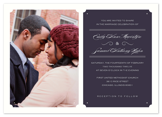 wedding invitations - Mind the Gap by Rose Lindo