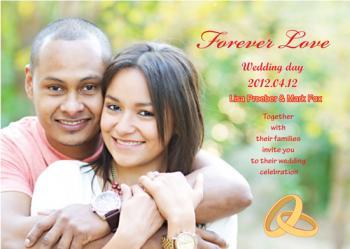2 Wedding Invitations