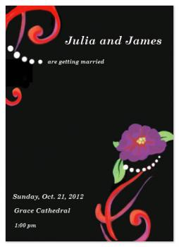 Bright Love Wedding Invitations