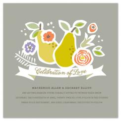 Celebration of Love Wedding Invitations