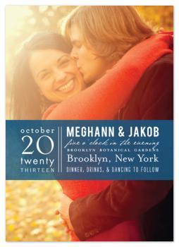 Fresh Stamped Wedding Invitations