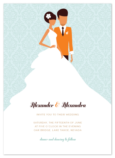 wedding invitations - picture perfect by Zory Mory