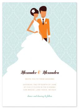 picture perfect Wedding Invitations