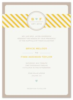Countryside Nuptials Wedding Invitations