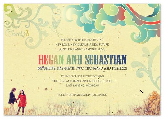 wedding invitations - Songbird by Stephanie Blaskiewicz
