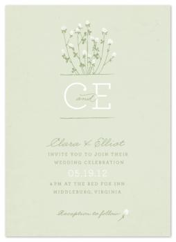 Clover Wedding Invitations