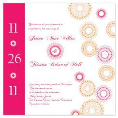 Poppin' Bubbly Wedding Invitations