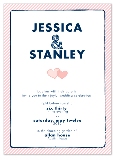 wedding invitations - get hitched by moca