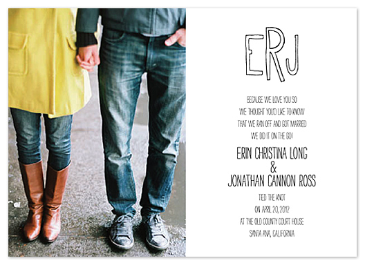 wedding invitations - Old County Courthouse by - Keg Design -