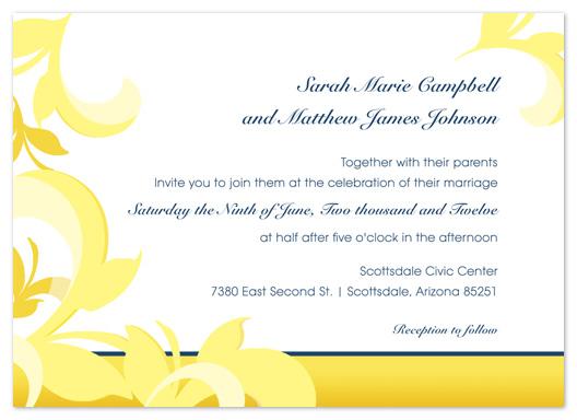 wedding invitations - Summer Florals by Lindsey Parker