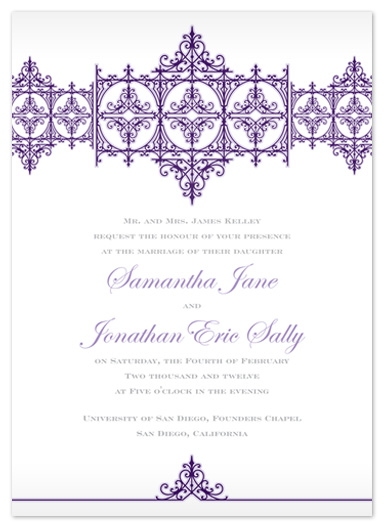 wedding invitations - Elegant Chic by Lindsey Parker