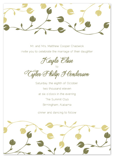 wedding invitations - Kayla by Erin Pfister