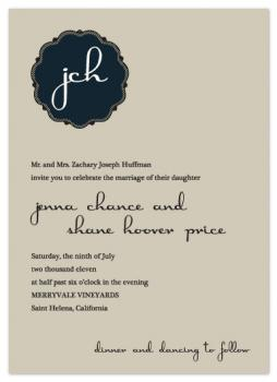 Jenna Wedding Invitations
