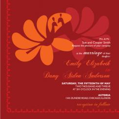peacock_feathers Wedding Invitations