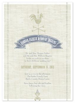 Country Love Wedding Invitations