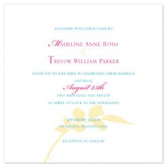 Classic Leaf Wedding Invitations