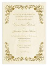Romantic Vintage Scroll by Tickled Ink Paperie