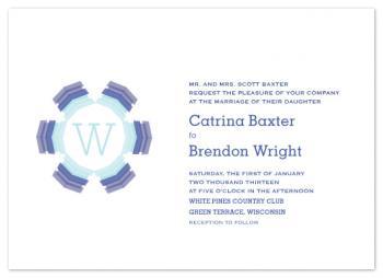 Wintery Wedding Wedding Invitations