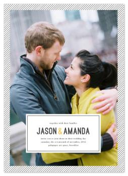 Uptown Wedding Invitations