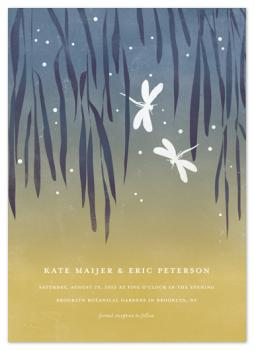 Dragonflies Wedding Invitations