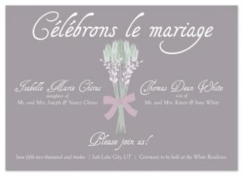 Celebrate Marriage Wedding Invitations