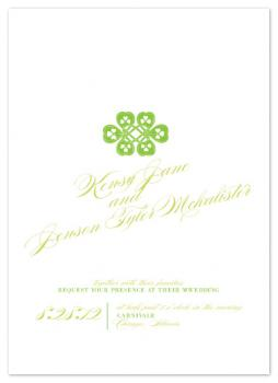 Lucky Love Wedding Invitations