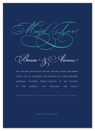 wedding invitations - Embellishment Bling by Larkspur Paperie