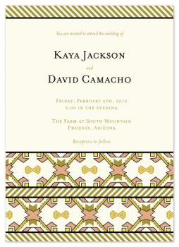 Native Love Wedding Invitations