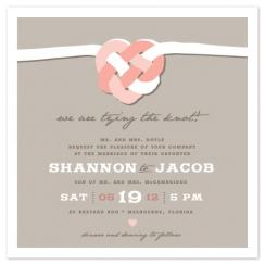 Tying the Celtic Knot Wedding Invitations