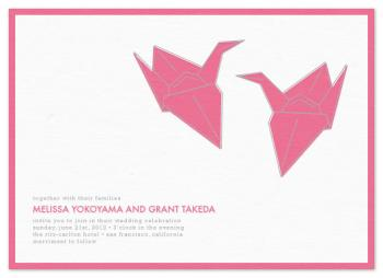 Paper Crane Love