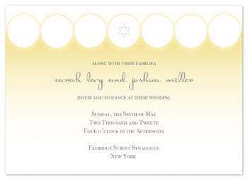 Seven Blessings Wedding Invitations