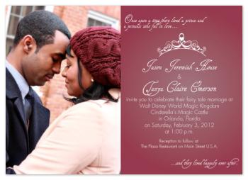 Fairy Tale Love Wedding Invitations