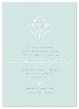 luckenbooth Wedding Invitations