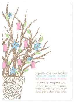 Wish Tree Wedding Invitations