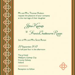 Irish Affair Wedding Invitations