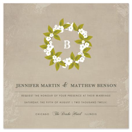 wedding invitations - French Bliss by Kayla Grunder