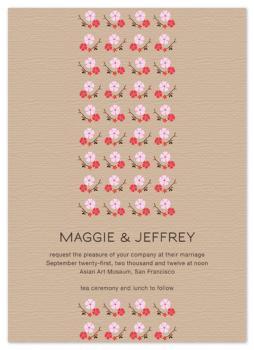 Sakura Wedding Invitations