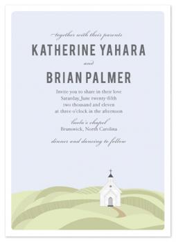 Little White Chapel Wedding Invitations