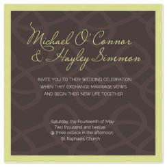 chain Wedding Invitations