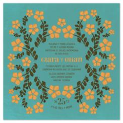 Bridal Bordadura Wedding Invitations