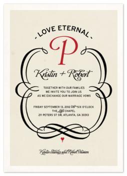 Love Eternal Wedding Invitations