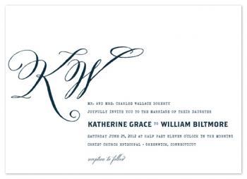 hyde park Wedding Invitations